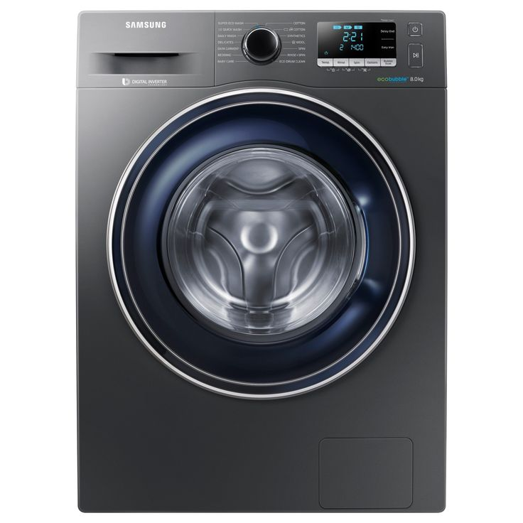 Samsung WW80J5456FX/EU ecobubble? Freestanding Washing Machine, 8kg Load, A+++ Energy Rating, 1400rpm Spin, Graphite on sale in the UK along with best prices on many other flooring goods.