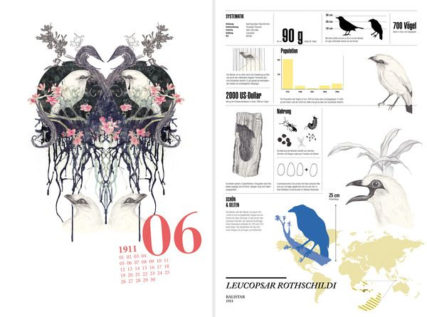 balistar, infographic design, calendar, animal, cryptozoology, illustration, watercolor #ElementEdenArtSearch