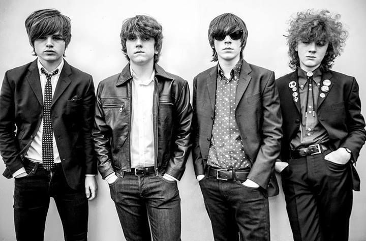 The Strypes during Arctic Monkeys tour