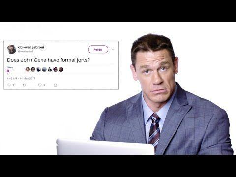 John Cena Goes Undercover on Twitter, YouTube, and Reddi…