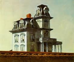 edward hopper -the house by the railroad