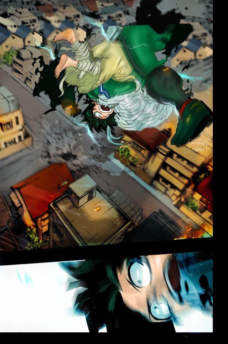 My Hero Academia Hero 157 Deku Save Eri Chisaki By Amanomoon