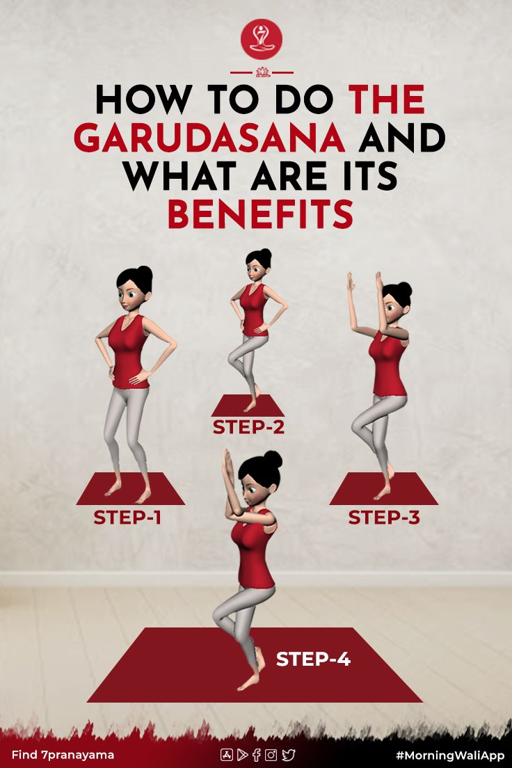 How To Do The Garudasana And What Are Its Benefits Eagle Pose Learn Yoga Poses Easy Yoga Workouts