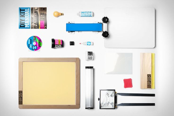 ** DIY T-SHIRT KIT ** Finding the perfect graphic for a cool T-shirt can be near impossible sometimes, but with the DIY T-Shirt Kit ($250) you can now come up with your own...
