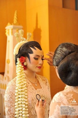Foto Pengantin dg Make up Tata Rias Pengantin Jogja Putri