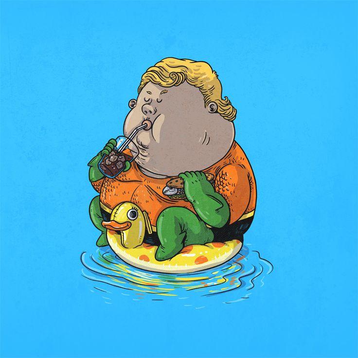 Chunky Aqua Man