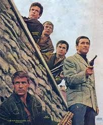 Garrison's Gorillas - (1967-68). Starring: Ron Harper, Cesare Danova, Brendon Boone, Rudy Solari and Christopher Cary. Partial Guest List: Ray Walston, Telly Savalas, Jack Klugman, Will Geer, Frank Gorshin, Harold Gould, Gavin MacLeod, Ted Knight, Jamie Farr, Mike Farrell, Casey Kasam, Claude Akins, Eric Braeden and Gena Rowlands.