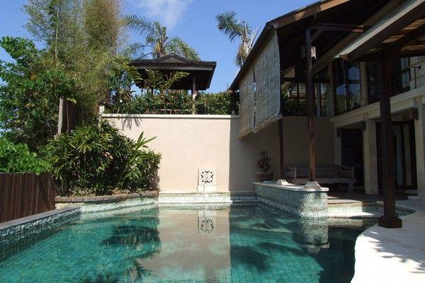 Dinamic and Large Private Pool of Hillside Villa in Balangan Jimbaran bali