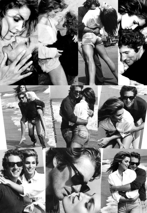 Cindy Crawford & Richard Gere...photography by the genius Herb Ritz. Look at the quality of the photo & keep in mind this was old-school-real photography: there were no state-of-the-art digital cameras when this was take. The man was brilliant! I wish I would have had honor to meet him and have a photo of my husband and I taken by him. To me, he was the most brilliant photographer of all time .He will always be remember that way by so many! -Caption by Mari