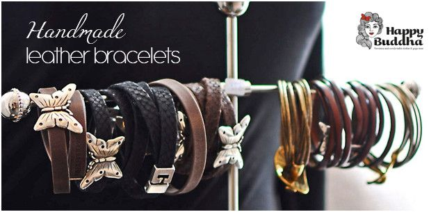 Butterfly leather bracelets, available in black or brown. Now £30 from The Nordic Angel Lifestyle.