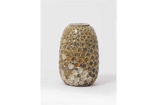 A Martin Brothers stoneware gourd vase by Edwin & Walter Martin, dated 1901, shouldered form, inc