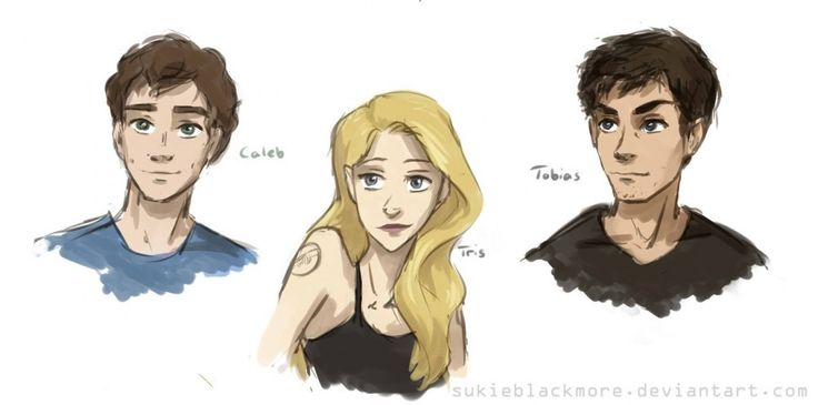 Divergent fanart. That's sort of how I imagine/imagined Tobias