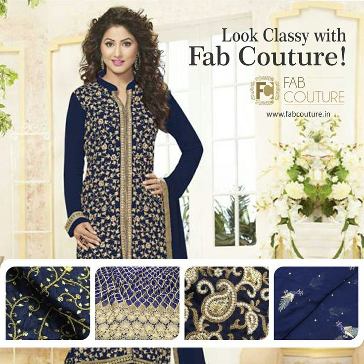 Look classy with #FabCouture! #DesignerFabric at #AffordablePrices.  Buy your stock of fabric from: https://fabcouture.in/fabrics/embroidered-indian-fabrics.html #HeenaKhan #DesignerDresses #Fabric #Fashion #DesignerWear #ModernWomen #Embroidered #WeddingFashion #WesternLook #affordablefashion #GreatDesignsStartwithGreatFabrics #LightnBrightColors #StandApartfromtheCrowd #EmbroideredFabrics