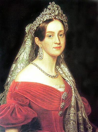 Joseph Karl Stieler - Duchess Marie Frederike Amalie of Oldenburg, Queen of Greece.jpg