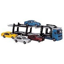 Fast Lane - Camion transporteur de voitures (couleur aléatoire)