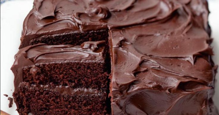 Ingredients   for the cake  – 2 cups all-purpose flour  – 2 cups sugar  – 2 sticks butter  – 1 cup water  – 5 Tablespoons coc...