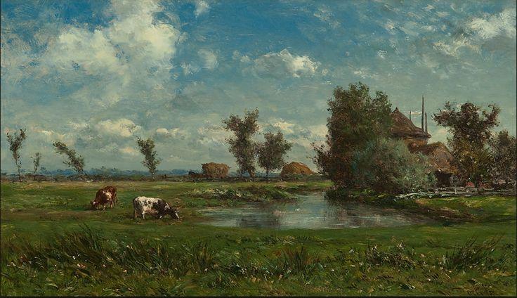 Willem Roelofs, schilder van de Haagse School