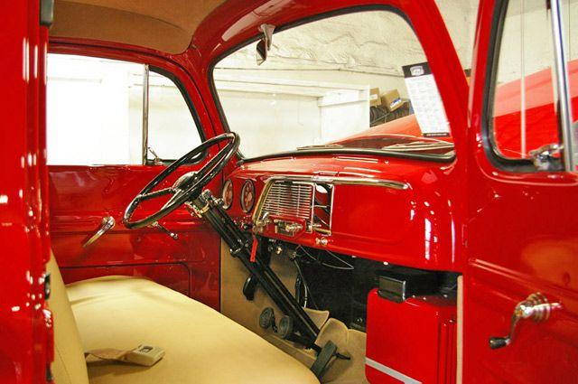 1951 Ford F1 Pickup Truck Interior 1 View Pickup Trucks 1951 Ford Truck Classic Ford Trucks
