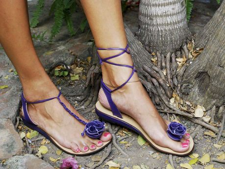 Go sandals ... for relaxed sophistication - Flair - Jamaica Gleaner - Monday | December 17, 2012
