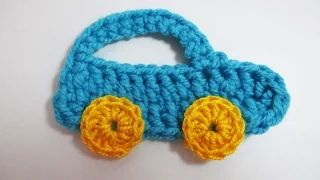 small chrochet car - YouTube