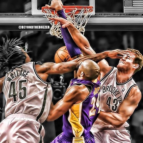 Kobe Bryan dunk