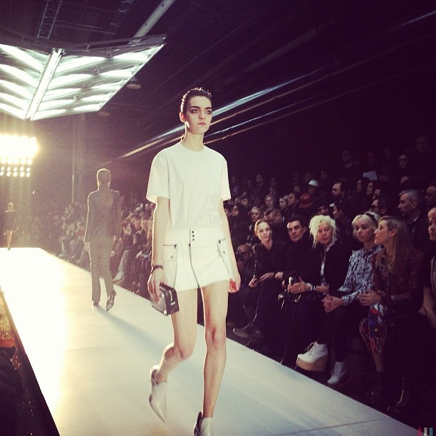 Favourite look of #DBGshow #NYFW Photo by hannelim