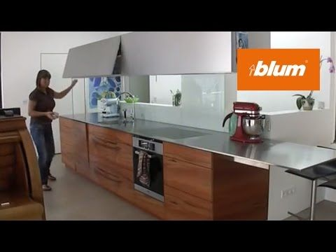 AVENTOS lift systems in the daily kitchen work