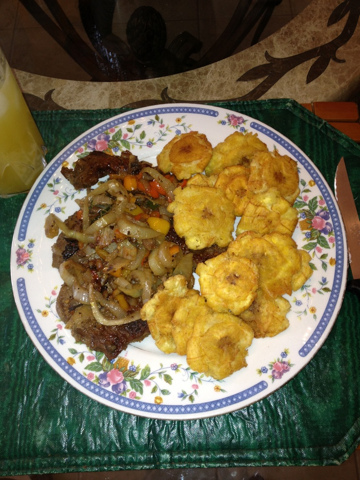 Steak And plantain