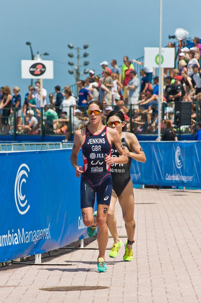 Helen Jenkins Photos: 2014 ITU World Triathlon Chicago