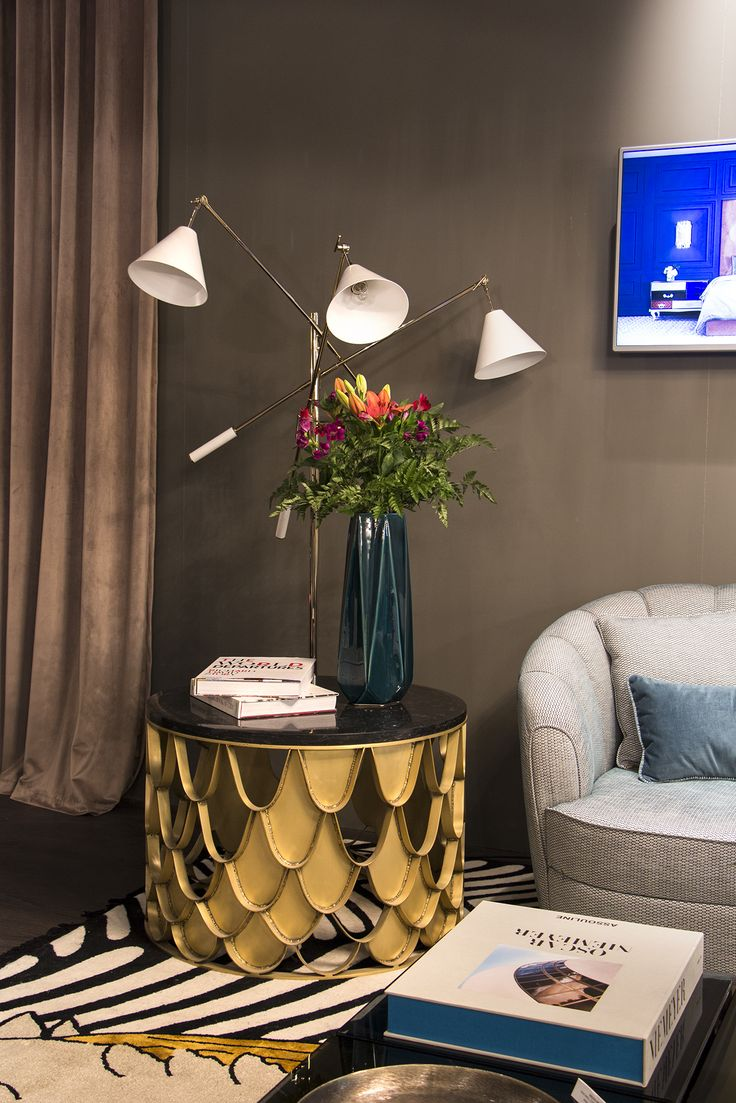 Meet interior design at maison et objet with luxury furniture design details by Covet Group