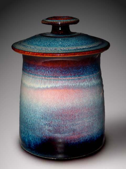 I kind of really want this beautiful cookie [rather, dog treat] jar to go next to my Le Creuset crocks. By Dunnmorr Studio, a Pennsylvania husband and wife pottery pair.