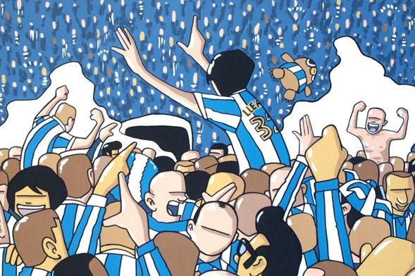 Pete Mckee Official artists site, all the way from Sheffield.  WAWAW