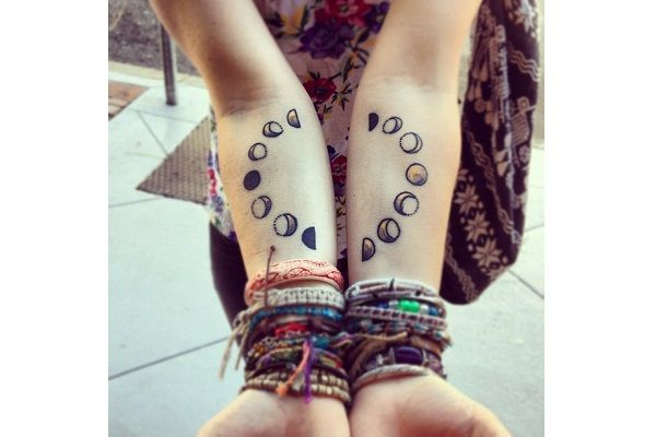 eclipse 8 Cool Forearm Tattoos for Women