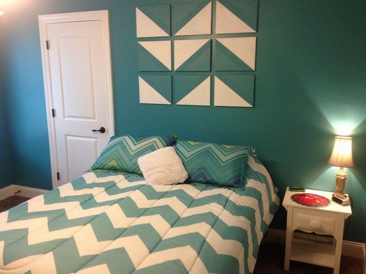 Best 25+ Chevron bedroom decor ideas on Pinterest | Bedroom mint ...