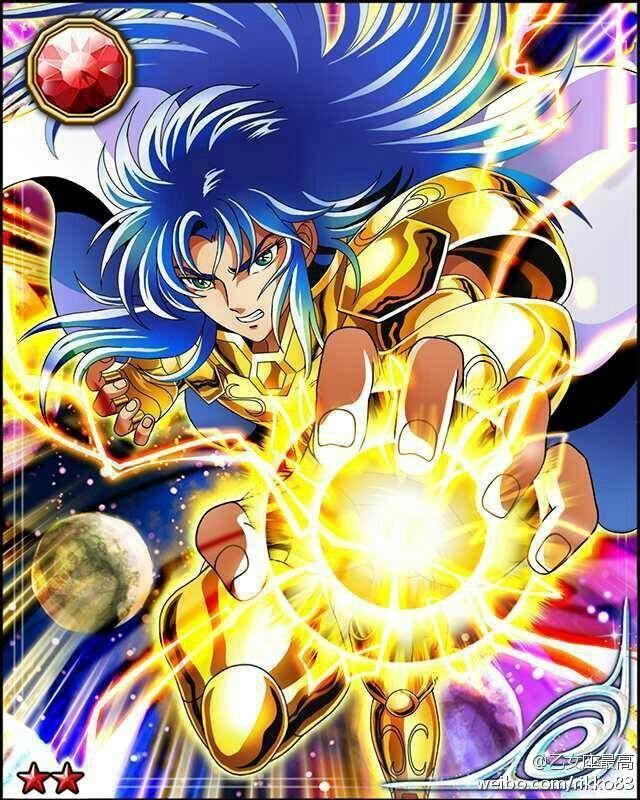 Saga geminis - Mi personaje favorito del mundo Saint Seiya (Caballeros del Zodiaco)