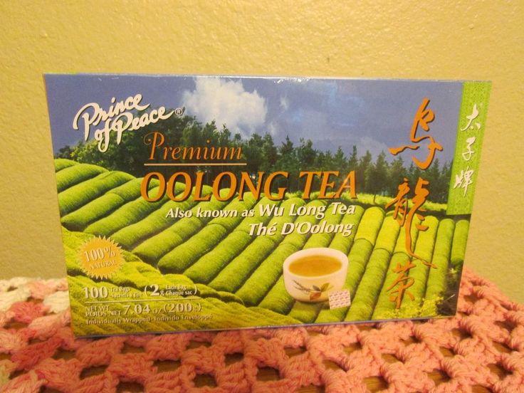 Prince of Peace Oolong Wu Long Tea Bags 100 individual sealed box expires 2016 #PrinceofPeace