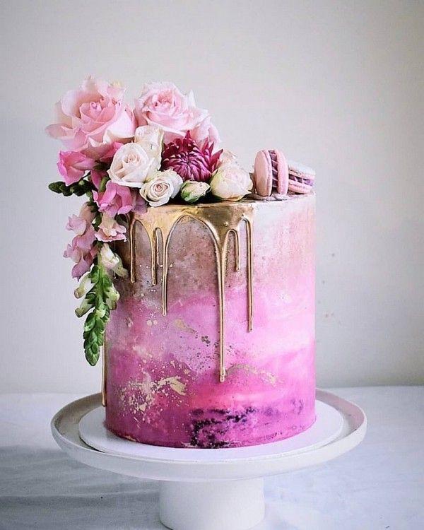 hot pink wedding cake 16 #Hochzeit #Hochzeitstorten #Kuchen #Hochzeitsideen #dpf   – Wedding