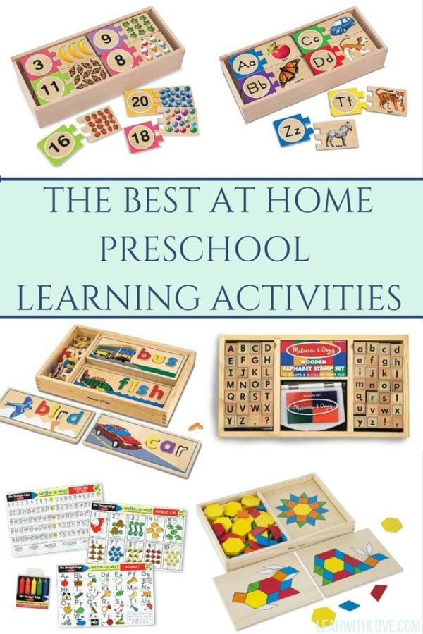 THE BEST PRESCHOOL LEARNING TOYS- TOOLS