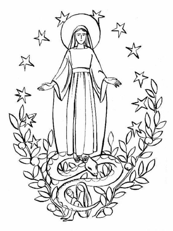 44 best coloring pages images on pinterest catholic for St rose of lima coloring page
