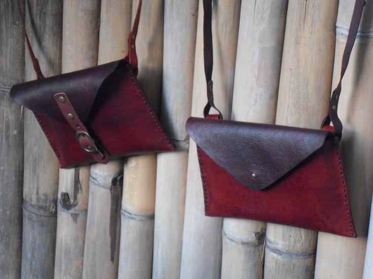 Leather handmade pocket - 1 day kaula workshop