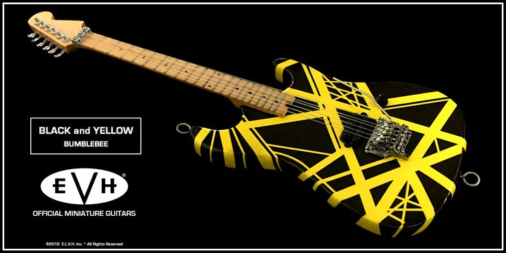 29 best EVH Miniature Guitars images on Pinterest