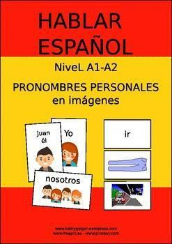 985447aabace3 Spanish personal pronouns with images - Spanish for beginners