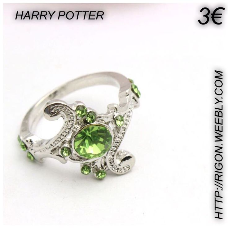 ANELLO HARRY POTTER SERPE VERDE 3€ OFFERTA