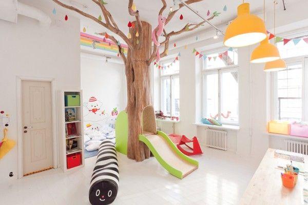 Restaurante para os pais, Playground para as crianças 1