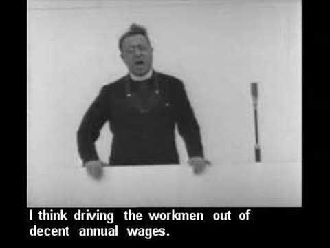 Father Charles Coughlin, a Catholic priest, exposes the evil of the Federal Reserve in a speech he gave in 1936.