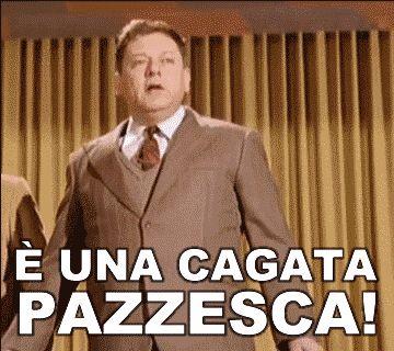 Massimiliano Buono: E' UNA CAGATA PAZZESCA!