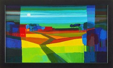 Painting by Ton Schulten (ootmarsum, netherlands)