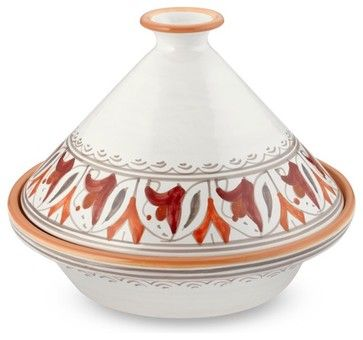 I just bought this one.Tunisian Hand-Painted Floral Tagine - mediterranean - cookware and bakeware - Williams-Sonoma
