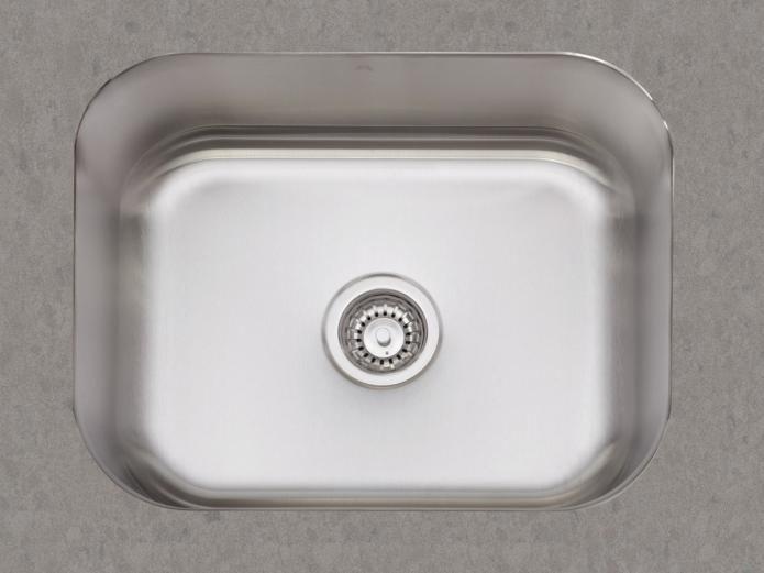 $270 48 litre 540 Undermount Kitchen Sink