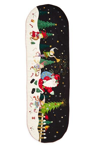 New World Arts Santa Parade Table Runner available at #Nordstrom